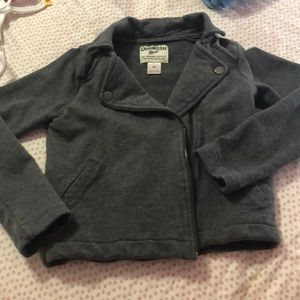 Girls size 6x gray side zip jacket